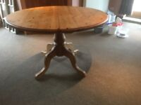 Pine Extending Table & Chairs