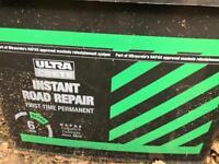Instant road repair tarmac