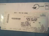 King of Leon - Glasgow - Standing Ticket