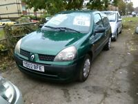 renault clio 1.2 petrol ideal first car