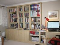 Hammonds Home Office with Storage and Shelving