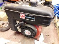 Portable generator for sale ideal for camping as new condition