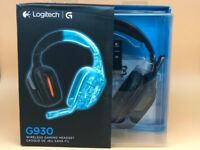 Logitech G930 Wireless Gaming Headset for PC - Black