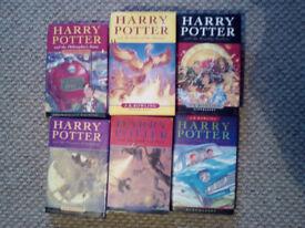 8 Harry Potter books JK Rowling