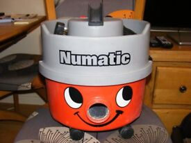 Henry Hoover Numatic Red Tub, with filter and NEW FULL Tool Kit