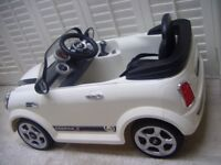Kids ride on electric powered car - Mini Cooper S - Sport Soft Top!