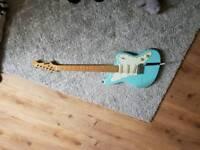 Hodson jazzmaster style guitar/fender surf