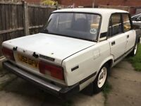 1991Lada Riva for restoration. Mot expired July