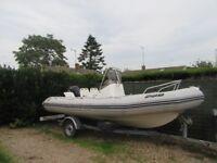 *BOAT* Zodiac Pro Open 550 Power boat with Suzuki DF90 engine