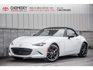 2016 Mazda MX-5 GS CONVERTIBLE AUTOMATIQUE FULL DEAL OF  THE WEE