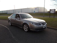 SAAB 9-5 VECTOR TID DIESEL SALOON TOP OF THE RANGE GREY 2005 BARGAIN ONLY £950 *LOOK* PX/DELIVERY