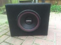 Subwoofer clothed box with 10inch 600 watts