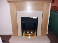 Electric fire barely used £75