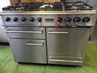 Stunning Falcon 1092 Range cooker Double Oven Roller Grill and Extractor