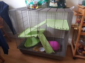 RRP £100 SAVIC Freddy 2 Max Rat / Ferret Cage USED GREAT CONDITION Small Animal Home ACCESSORIES
