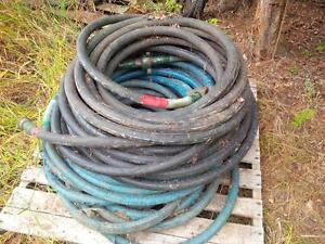 Steam - Air - Water or Hydraulic Hose(s) 1 inch + 3/4 inch ID