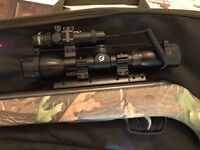 Laser sight and scope zoom kit - message for more details GAMO