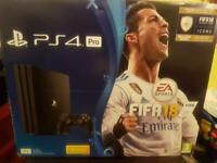 PS4 pro fifa edition 1tb brand new unopened