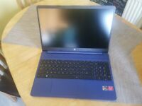 "HP 15s-eq0032na 15.6"" Laptop AMD Ryzen 5 8GB RAM 256GB SSD Indigo Blue"