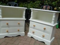 Bedside Table REFURBISHED 2 Available £35 Each HORNCHURCH ESSEX