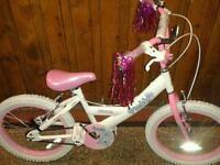 """MY TEDDY 18"""" GIRLS BMX BIKE"""