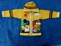 Children's jumper from Peru