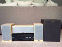 Compete 5.1 surround sound home cinema hi-fi bundle - Tannoy speakers & Yamaha amp