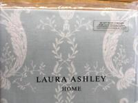 Brand new Laura Ashley ready made curtains Josette duck egg