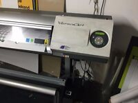 """Roland RS 640 64"""" eco solvent Printer Fully serviced working order"""
