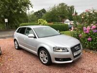 !!! 2009 (59) AUDI A3 1.9TDI E SPORT 5 DOOR SPORTBACK FUll SERVICE HISTORY ONE FORMER KEEPER !!!