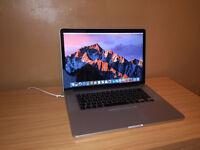 Macbook Pro A1398 i7 processor