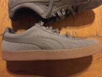 Puma suede trainers size 8 (feel like a 7) bnib
