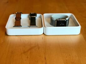 Apple Watch Stainless Steel 38mm - first series with three straps and box