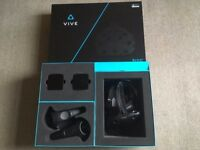 HTC VIVE Headset with steelseries headphones. Good as new.