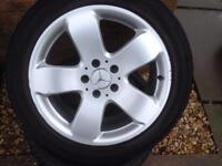 "1 Mercedes e320 Alloy wheel 16"" for sale excellent condition only got one £85 call 07860431401"