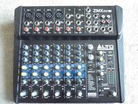 Alto ZMX 122fx mini mixer