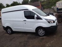 2014 ford transit custom van clean van full service history just had new alloys and tyres