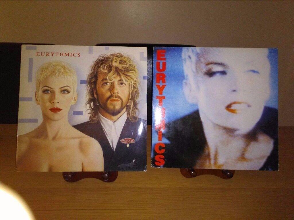Eurythmics Vinyl Albums