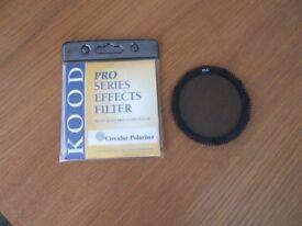 New Kood pro series circular polariser colkin for P series holders
