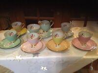'Jarolina' China Tea Set. Made in Poland.