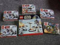 New Sealed Lego Star Wars Sets Army Builder