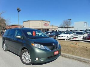2011 Toyota Sienna XLE-LEATHER-SUNROOF-DUAL DVD