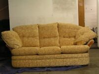 Settee Three Seater Good Condition
