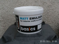 10ltr white emulsion matt paint £5