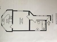 Large studio flat to let in West Kensington
