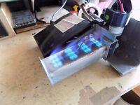 caravan water heater burner module