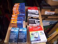 Assorted ink cartridges job lot