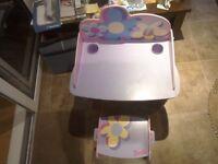 Barbie desk & chair