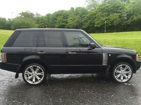 Range Rover vogue TDV8 2008 Black