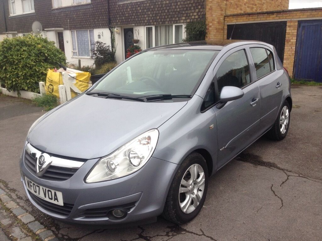 Silver Vauxhall Corsa 1 2 Automatic 163 1750 Ono In Woodley